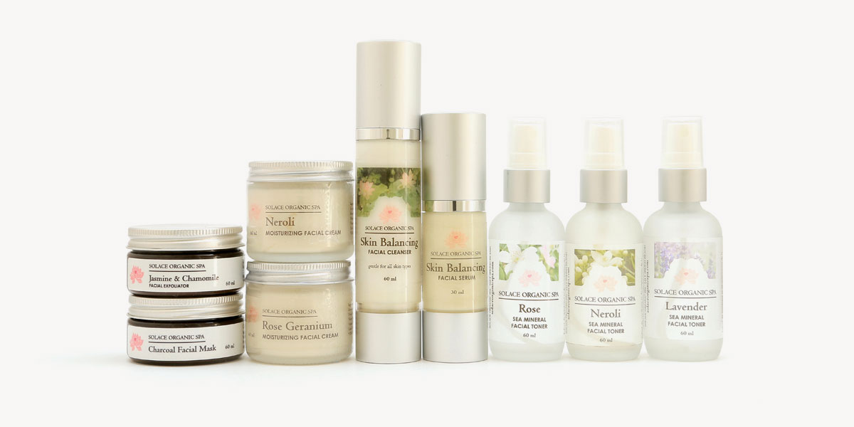 Solace Organic Spa Skincare Shop
