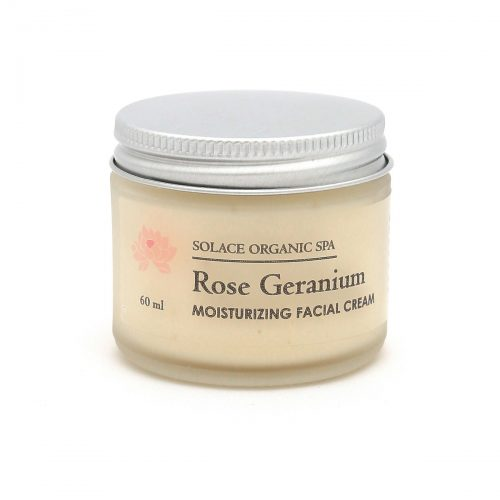Rose Geranium Moisturizing Facial Cream