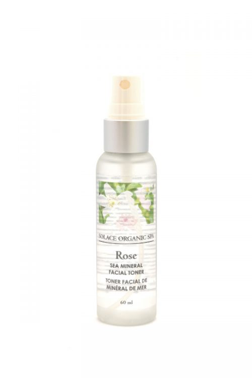 Sea Mineral Facial Toner – Rose